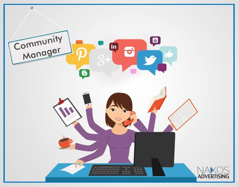 naxos advertising        recrute     community manager